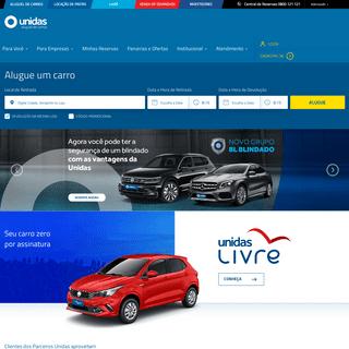 Unidas - Aluguel de carros em todo o Brasil