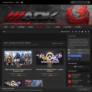 ArchiveBay.com - adkgamers.com - =ADK= Gaming Community - Online Gaming Forums -