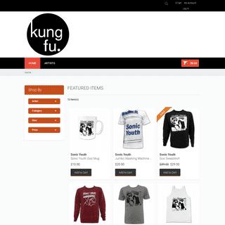 Kung Fu Nation Store Kung Fu Music Merchandise