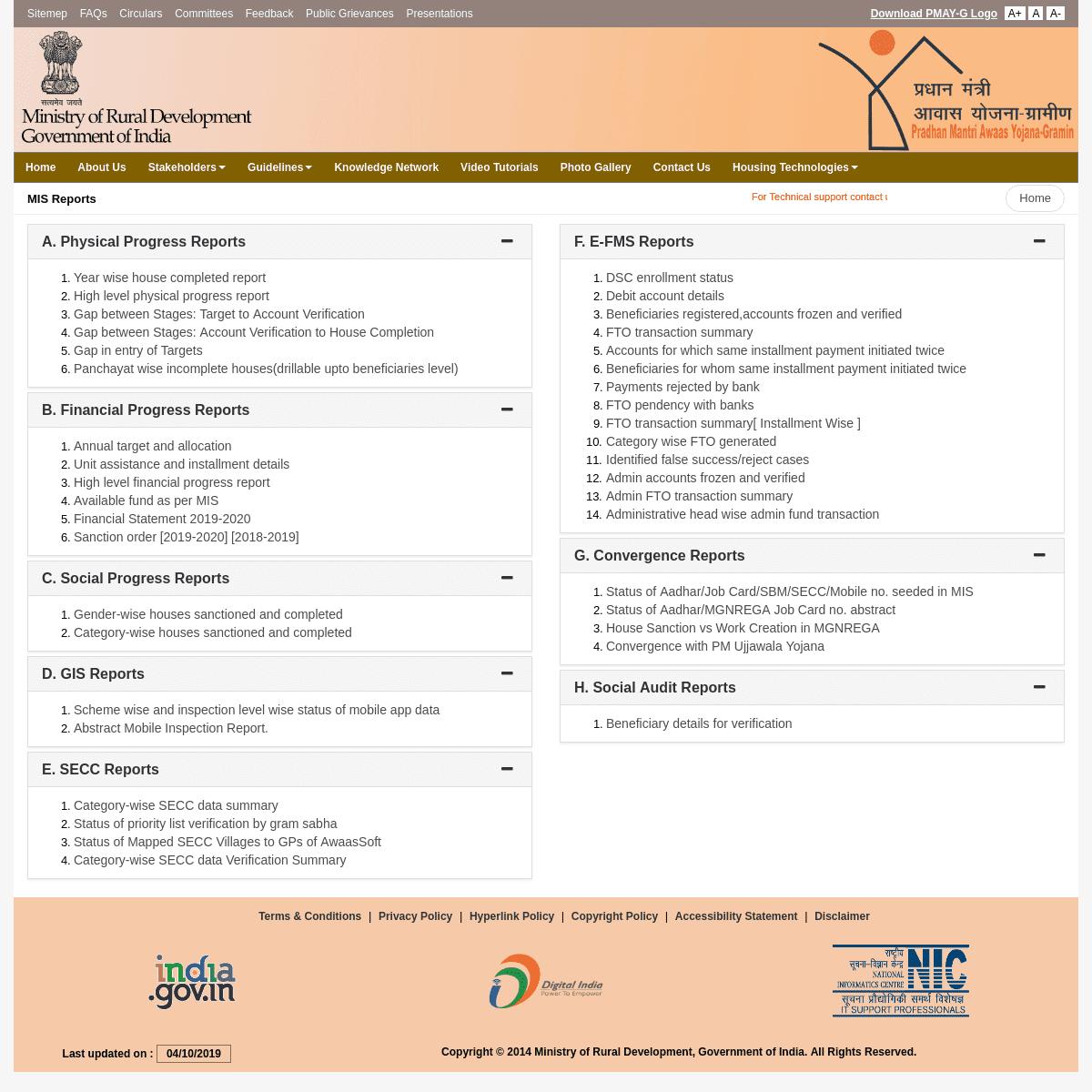 ArchiveBay com - Citation for: rhreporting nic in - Pradhan