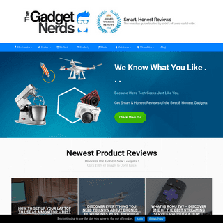 The Gadget Nerds -- Tech Reviews From Tech Geeks Just Like You