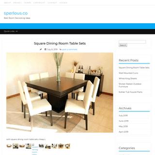 sperlous.co – Best Room Decorating Ideas