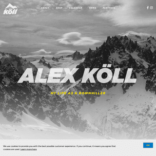 Alex Köll - My life as a Downhiller