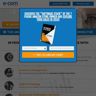 Amazon Sellers Software - E-Com Solutions
