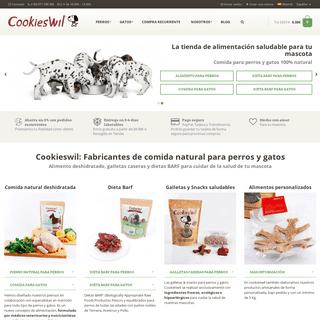 Cookieswil - Piensos para Perros y Gatos ¡100- Naturales!