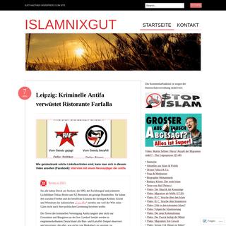 Islamnixgut - Just another WordPress.com site
