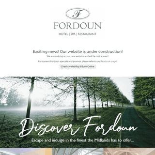 Fordoun Hotel & Spa- Nottingham Road Accommodation