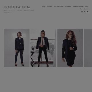 ArchiveBay.com - isadoranim.com - Isadora Nim Women's tailoring, suit and business wear