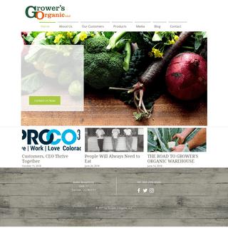 Organic Produce - Denver Distributor - Grower's Organic