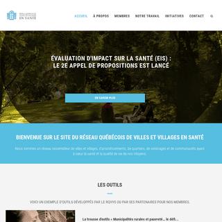 Réseau québécois des villes et villages en santé