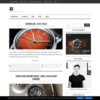 ZEIGR - Uhren-Blog & Magazin