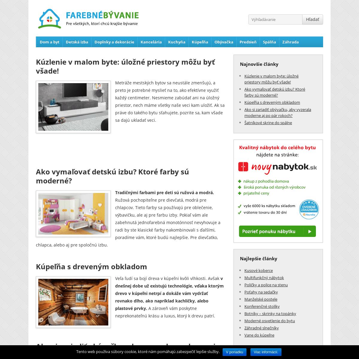 ArchiveBay.com - farebnebyvanie.sk - Farebné bývanie - nábytok do bytu aj domu