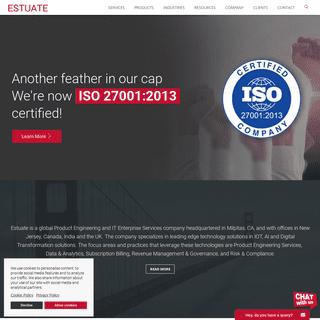 ArchiveBay.com - estuate.com - IT Services - Digital Transformation - Consulting Company - Estuate