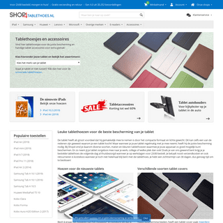 Tablet Hoesjes, Cases en Tablet Covers - Shop4Tablethoes.nl
