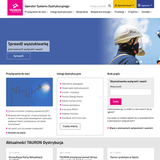 Operator Systemu Dystrybucyjnego - TAURON Dystrybucja S.A.