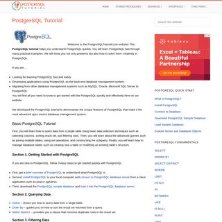 ArchiveBay.com - postgresqltutorial.com - PostgreSQL Tutorial - Learn PostgreSQL from Scratch
