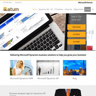 ArchiveBay.com - atum.com - Microsoft Partner Toronto - Atum Corporation