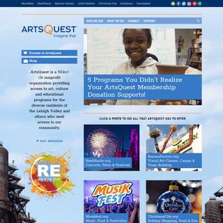 ArtsQuest — imagine that