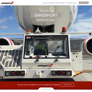 Swissport Australia and New Zealand - Cargo and aircraft ground handling