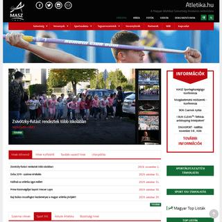 Atletika.hu - A Magyar Atlétikai Szövetség hivatalos weboldala