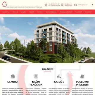 Fond Kantona Sarajevo za izdradnju stanova