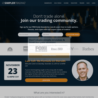 Learn to Trade Online - Trading Education & Courses - Simpler Trading