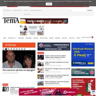 Gazeta Tema – Gazeta me e lexuar shqiptare