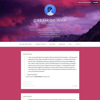 Dream of War
