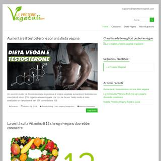 ArchiveBay.com - leproteinevegetali.com - LeProteineVegetali.com - Quello che devi sapere per un alimentazione sana