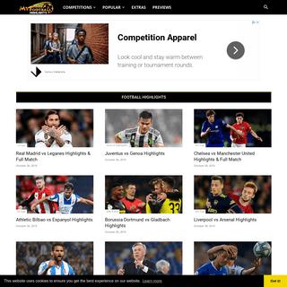 ArchiveBay.com - myfootballhighlights.com - My Football Highlights - Football Highlights, Soccer Goals and Shows