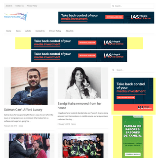 NewsForBolly - Read All Bollywood News
