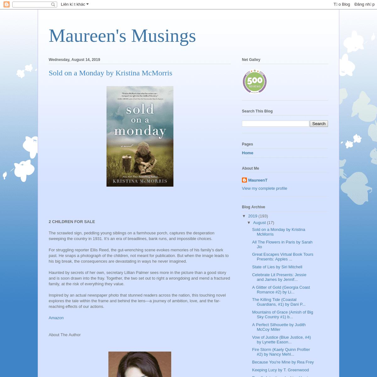 Maureen's Musings