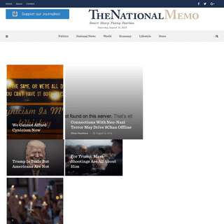The National Memo - Latest US Political News, Election, White House & World News