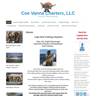 Lake Erie Walleye Charter Fishing Boat, Port Clinton