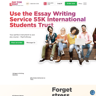 Pay for Essay - Best Essay Writers - 6-Hour Deadline