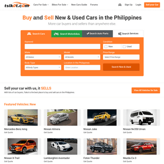 New and Used Cars For Sale in the Philippines - Tsikot.com #1 Classifieds