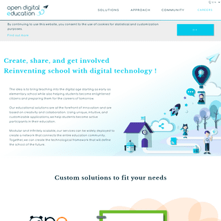 Open Digital Education - Reinventing school with digital technology
