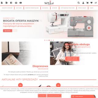 ArchiveBay.com - szyj.pl - Najlepszy sklep z maszynami do szycia i haftowania - SZYJ.PL
