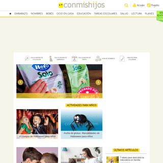 Hijos y padres- todo para los niños y bebés Conmishijos.com