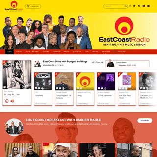 East Coast Radio is KwaZulu-Natal's leading commercial radio station.
