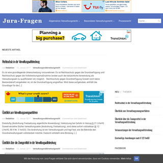 Verwaltungsrecht – Informationen zum Verwaltungsrecht in Studium und Praxis