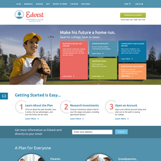 Edvest College Savings Plan