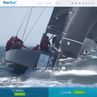 TracTrac - Leaders in live tracking - Sailing - Orienteering - Cycling - Skiing - Triathlon