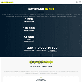 BUYBRAND - международная выставка франшиз