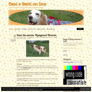 Cani e Gatti on line - L' Universo dei nostri piccoli amici a quattro zampe