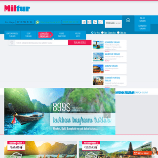 ArchiveBay.com - miltur.com.tr - Tatil, Tur, Otel, Yurtdışı, Balayı, Maldivler, Uzakdoğu - Miltur