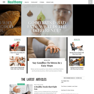 Healthemy - Your daily health guide.