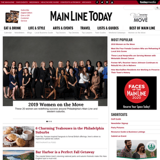 Main Line Today - Philadelphia, PA - Dining, Shopping, Nightlife, Resources, Signature Events, Bride, Home
