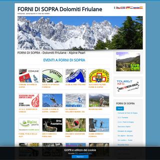 Associazioni e istituzioni di Forni di Sopra - Dolomiti Friulane