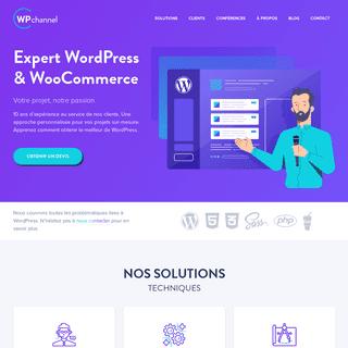 WP channel - Expert WordPress & WooCommerce